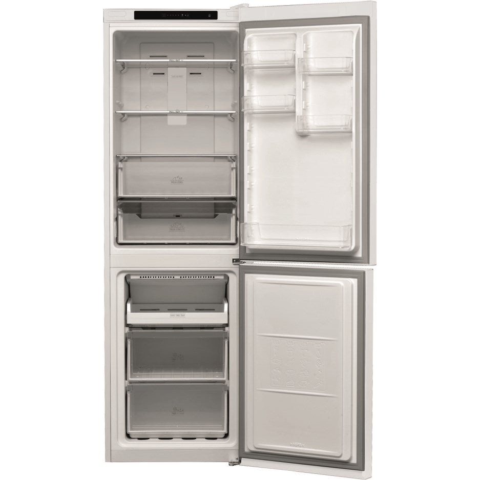 Hotpoint 70/30 Split 338L Freestanding Fridge Freezer, Global White | H3T811IW