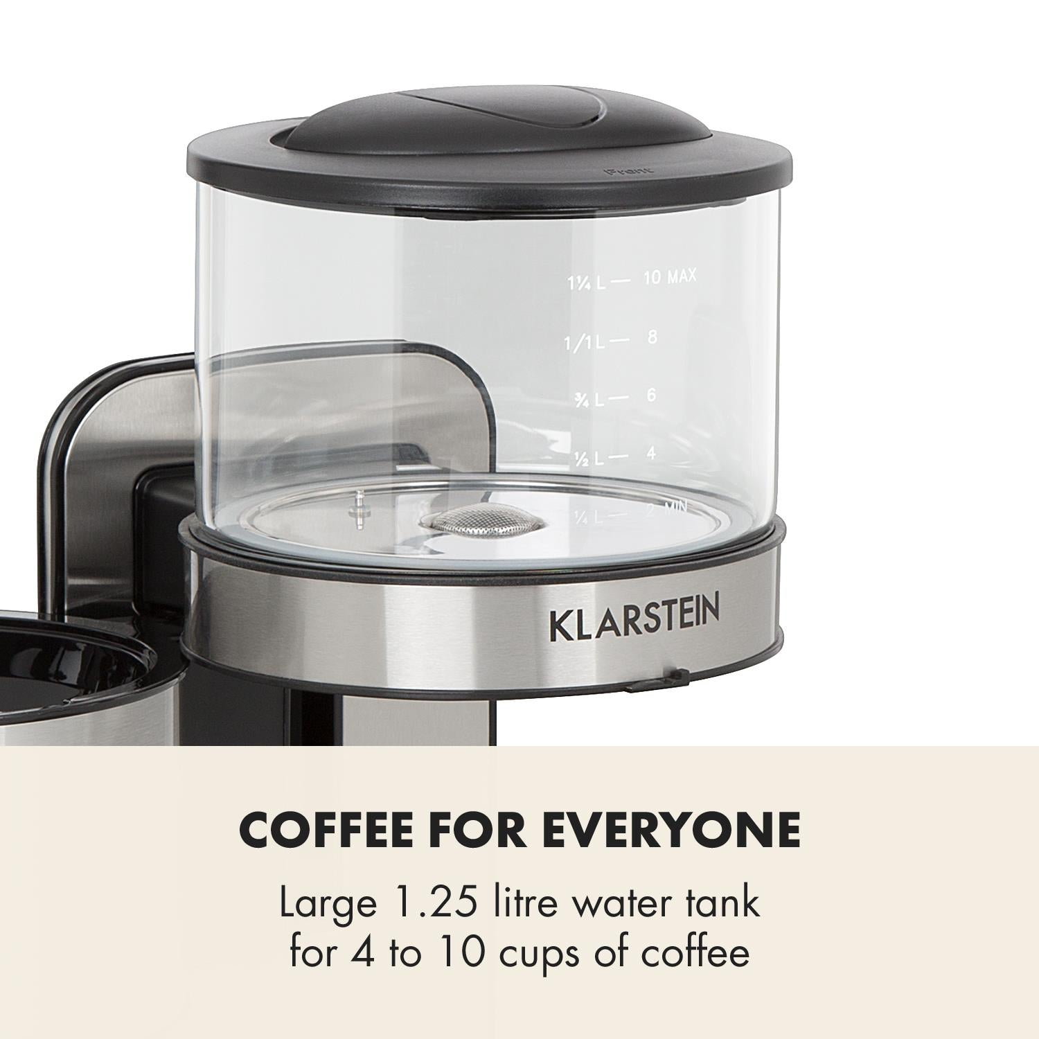 Klarstein Soulmate Coffee Machine | ME10031632