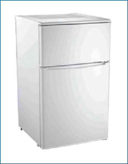 PowerPoint 90L Under Counter Fridge Freezer, White | P7531M/4