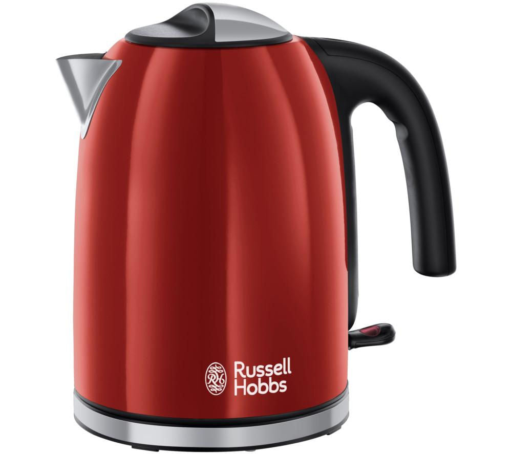 Russell Hobbs Colour Plus Jug Kettle, Red | 20412