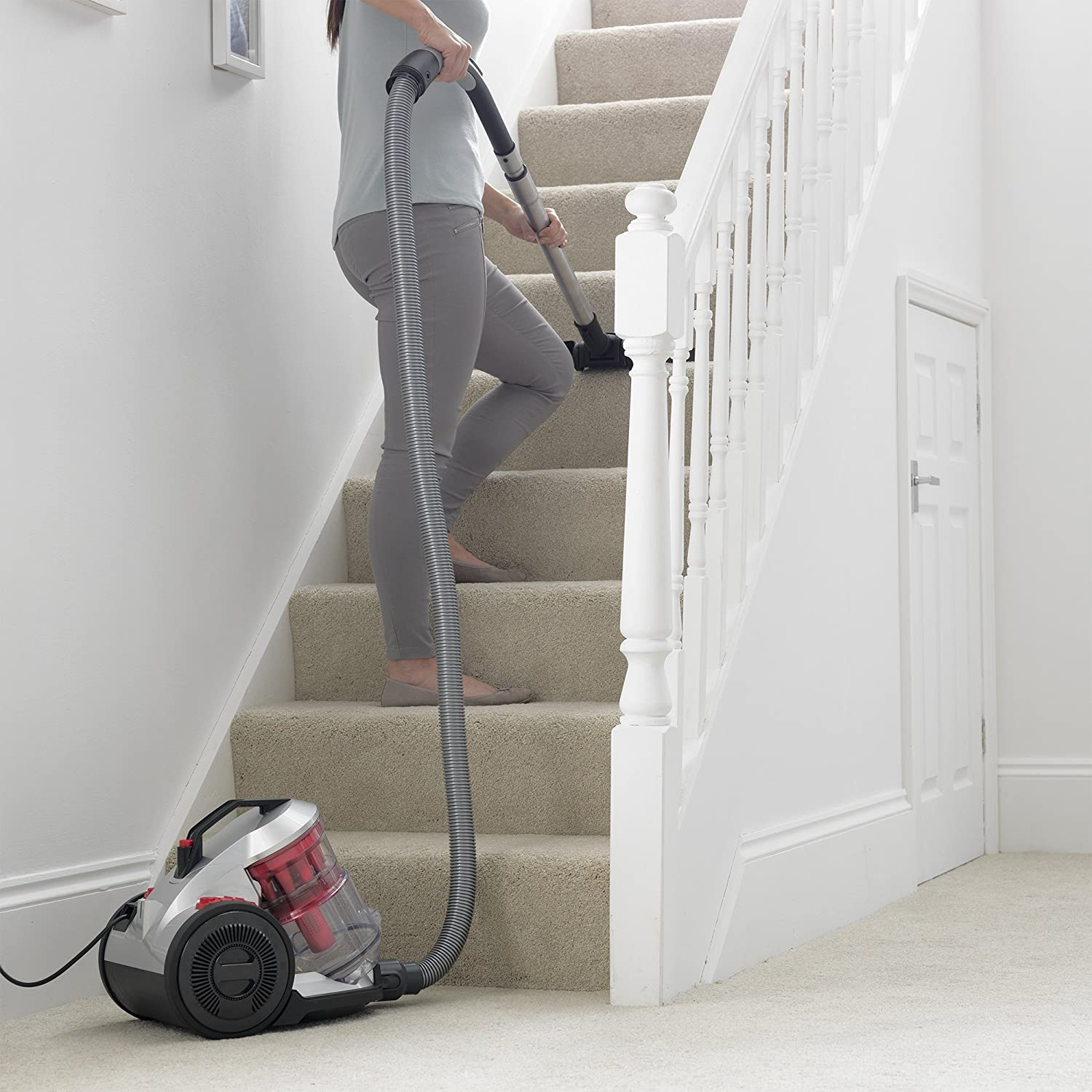 Vax Air Total Home Vacuum Cleaner, Red | CCQSAV1T1