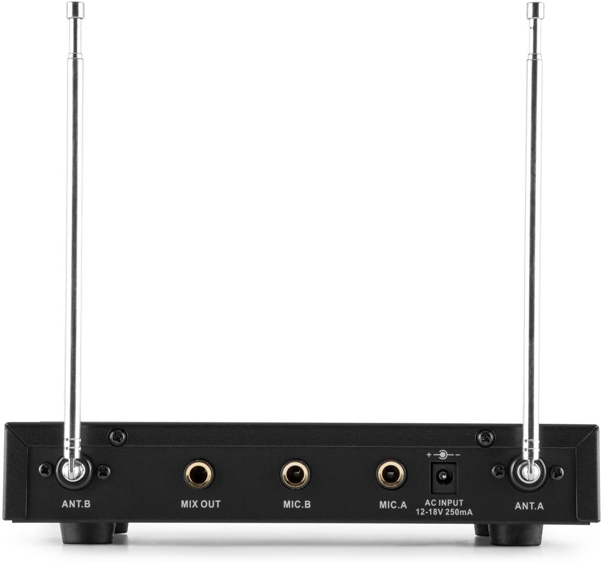 auna MEVHF-2-H - 2-channel VHF wireless microphone set | ME10030868