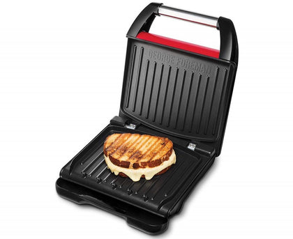 George Foreman 5 Portion Family Grill - Red Steel | 25040