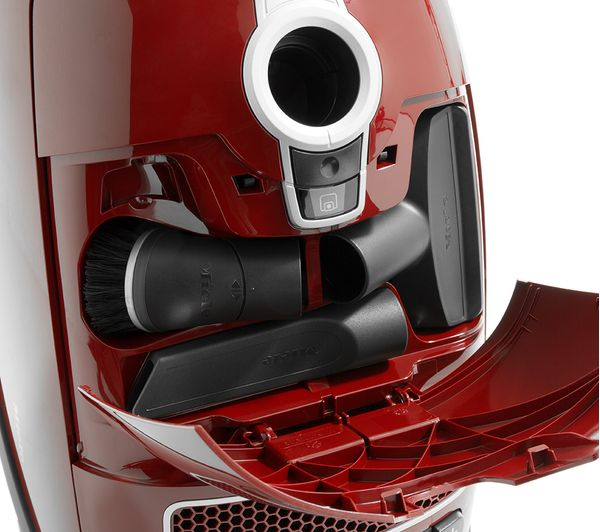 MIELE Complete C3 Cat & Dog PowerLine Cylinder Vacuum Cleaner, Red | 215301