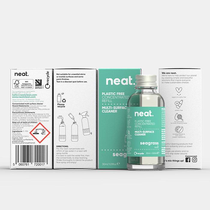 The concentrated refill 30ml-Multi-surface cleaner-Multi-surface cleaner-antibac cleaner fresh recyclable enviromental-NeatClean