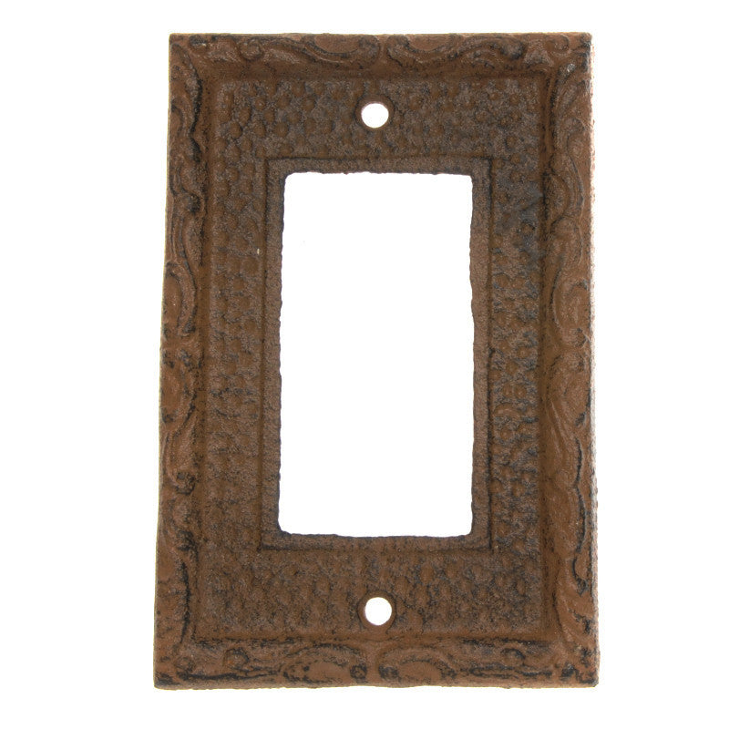 Cast iron switch plates prettyhardware - Wrought iron switch plate covers ...