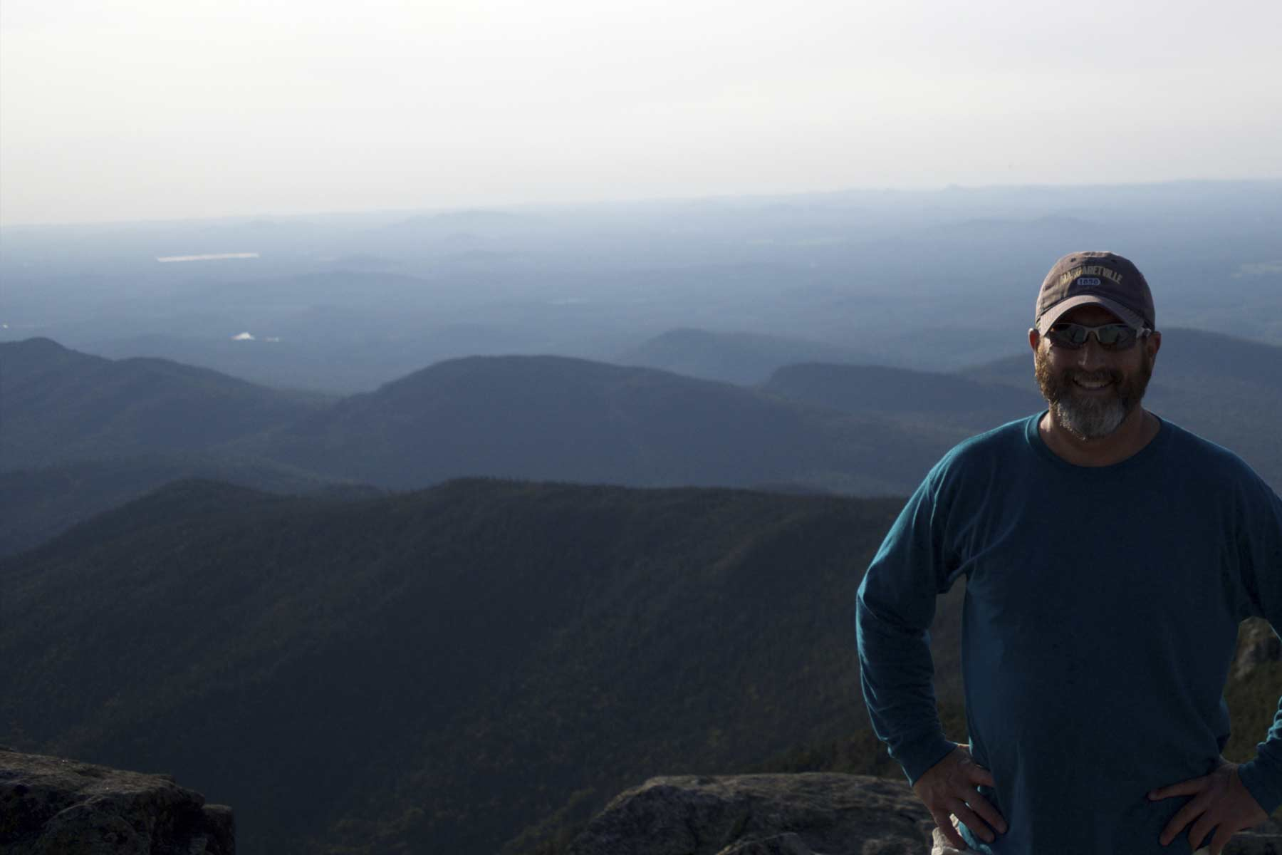 Atop Whiteface Summit