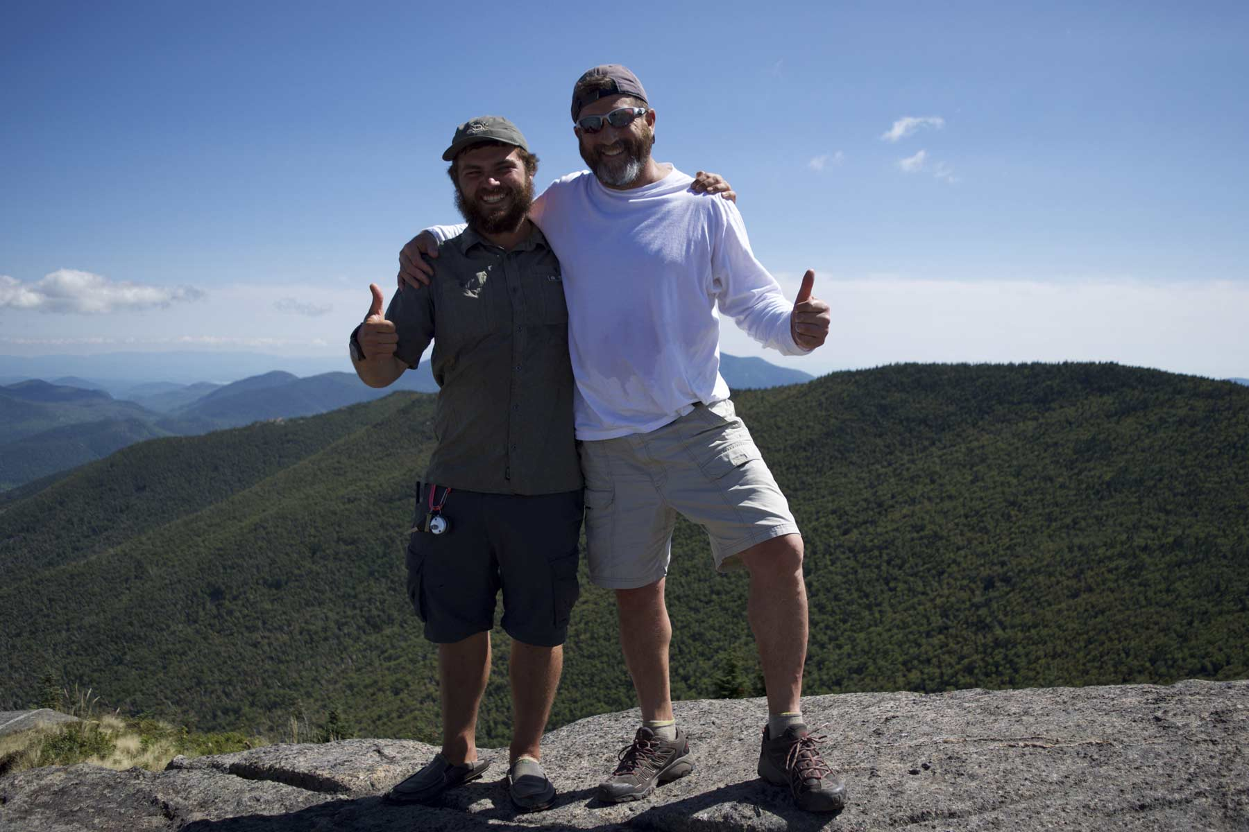 Mount Cascade: With Wade at the Summit