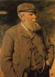 A portrait of Old Tom Morris that hangs in the clubhouse at the Old Course in St. Andrews