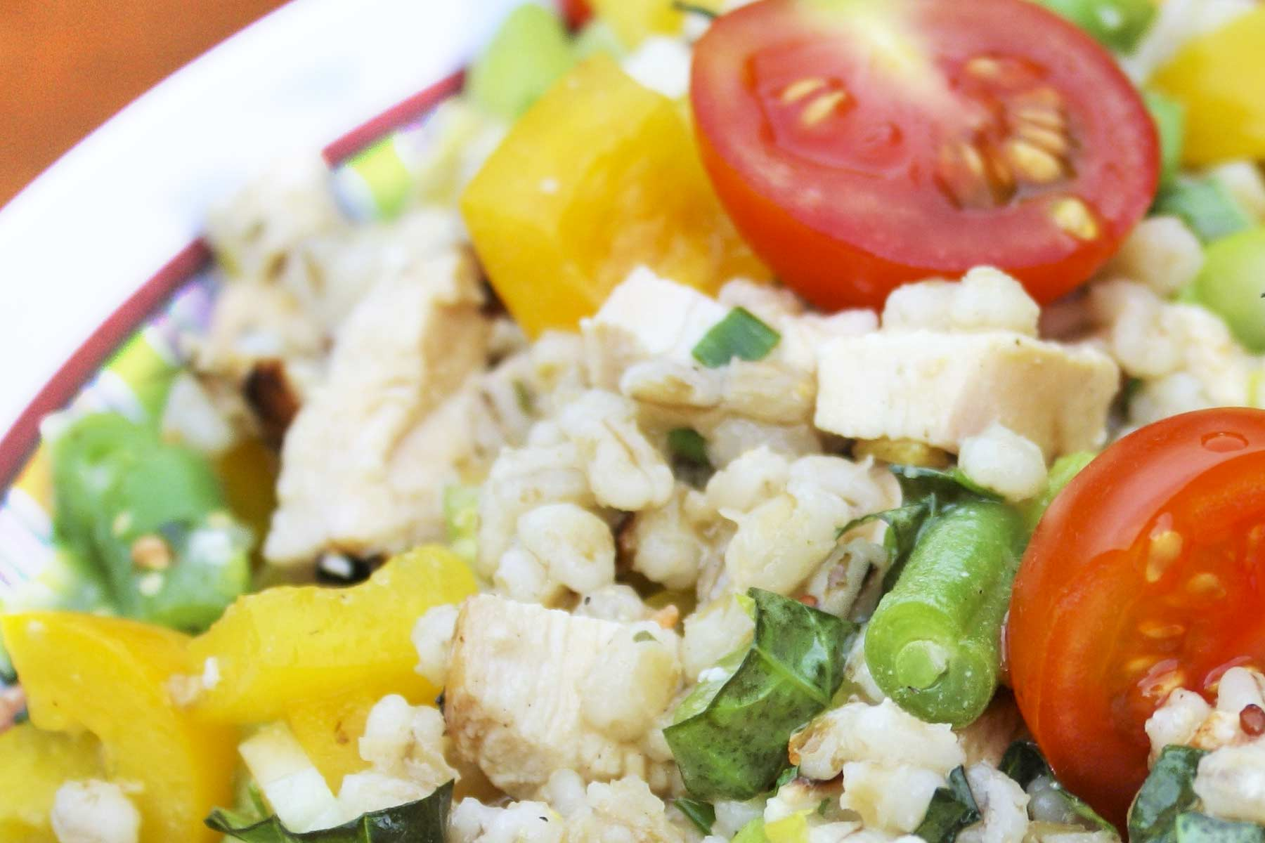 Add quinoa to your favorite salad and enjoy!