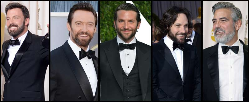 2013 Academy Awards when Ben Affleck, Hugh Jackman, Bradley Cooper, Paul Rudd, George Clooney