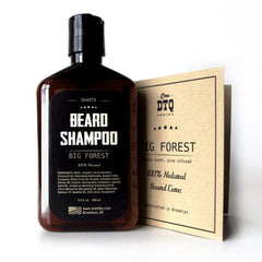 Beard Care Kit: Big Forest Beard Shampoo & Beard Brush - OneDTQ - Best Beard Care  - 2