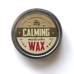 Mustache Wax - Calming Blend - OneDTQ - Best Beard Care  - 2