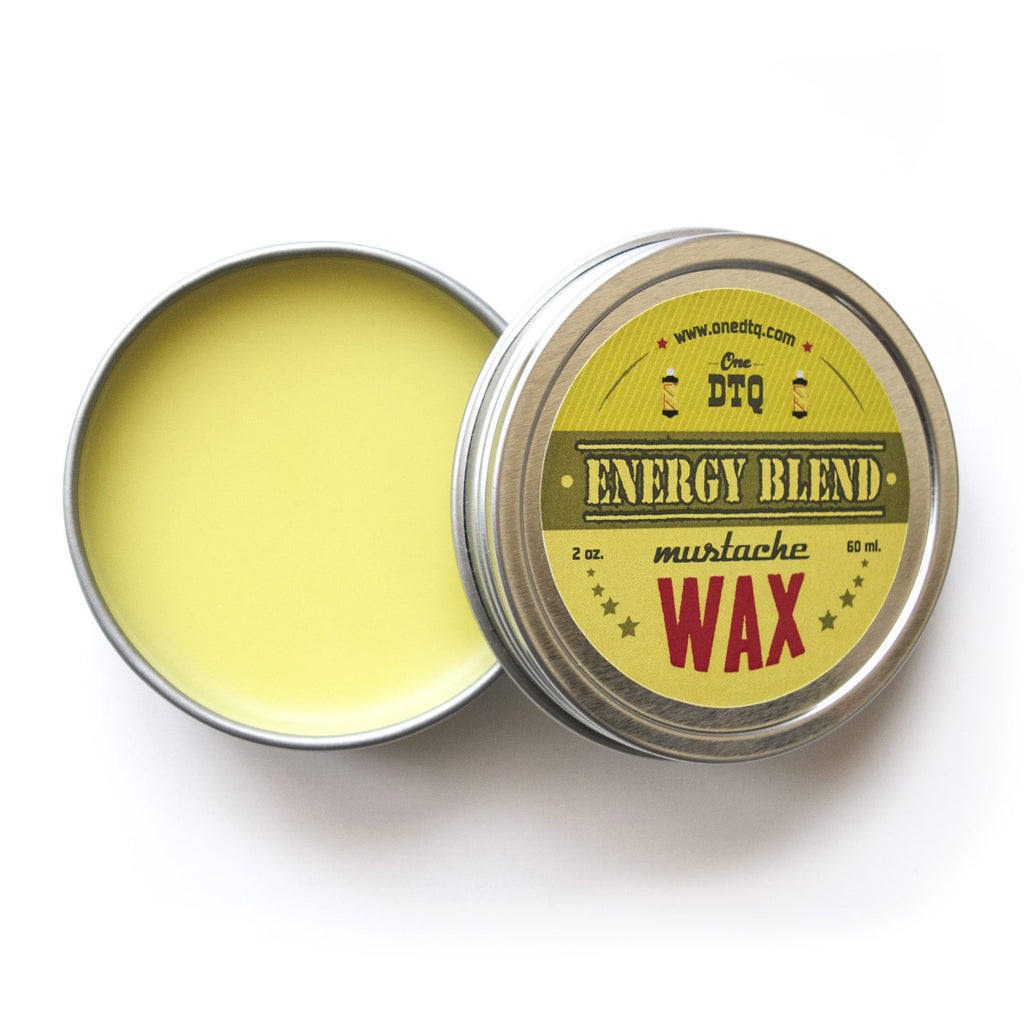 Mustache Wax - Energy Blend - OneDTQ - Best Beard Care  - 1