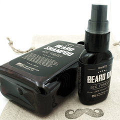 Beard Care Kit: Big Forest Beard Shampoo & Beard Oil - OneDTQ - Best Beard Care  - 2