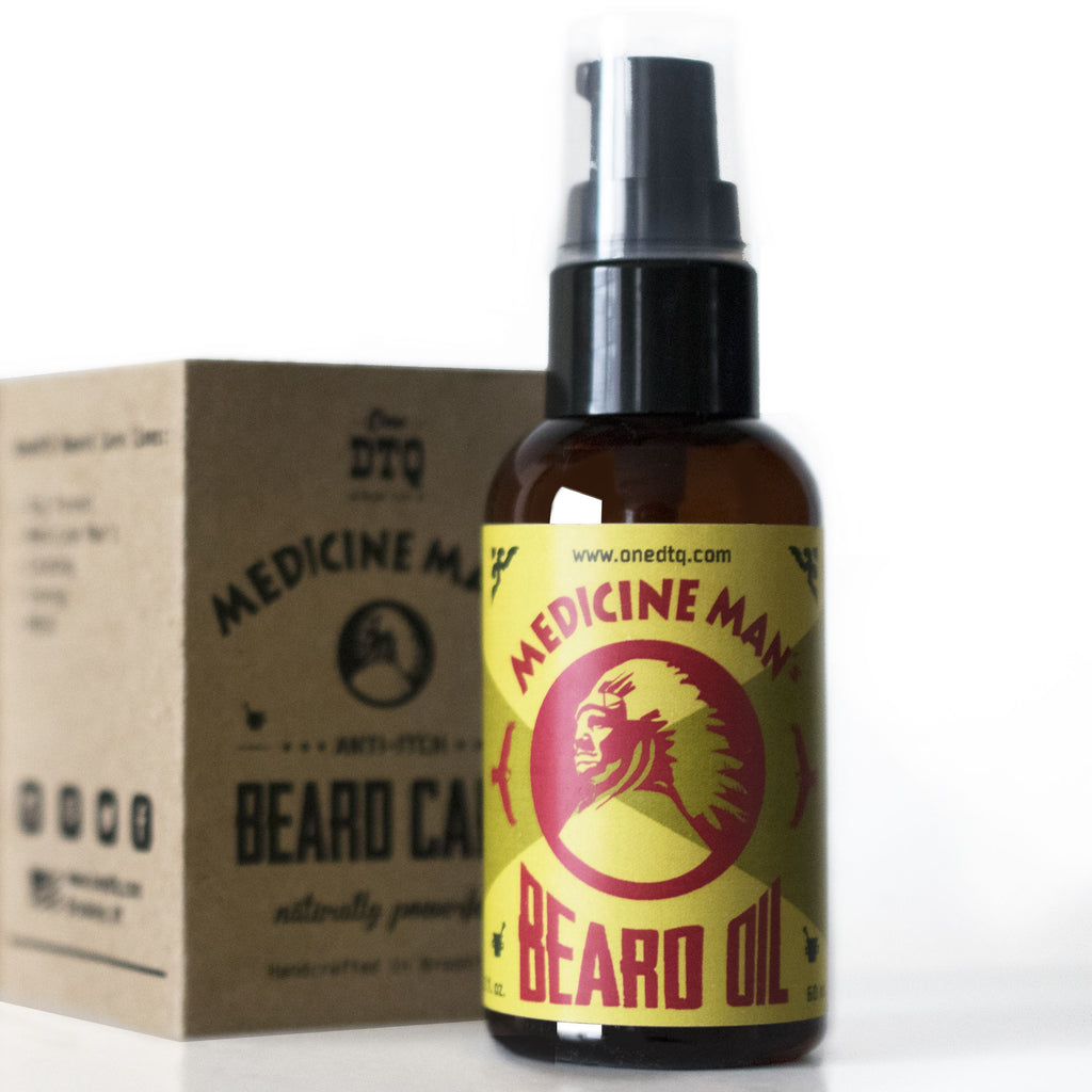 Medicine Man's Beard Oil for Itchy Beard & Dandruff
