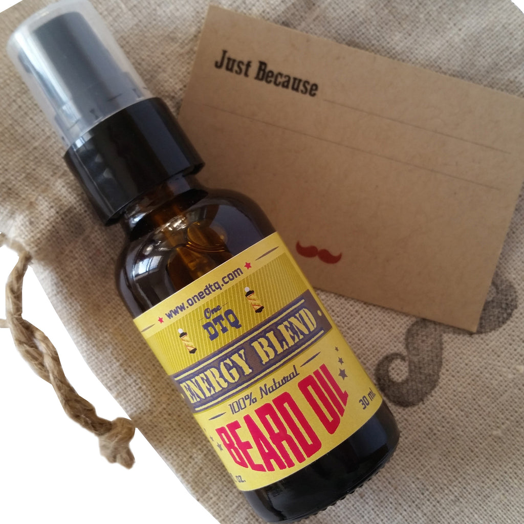 OneDTQ Just Because Beard Care Gift - Energy - by OneDTQ - Best Beard Care