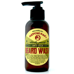 Medicine Man's Anti-Itch Beard Care Kit: Beard Wash and Beard Oil - OneDTQ - Best Beard Care  - 2