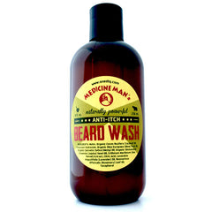 Medicine Man's Anti-Itch Beard Wash 8 FL OZ - by OneDTQ - Best Beard Care
