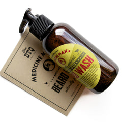 Medicine Man's Anti-Itch Beard Wash - by OneDTQ - Best Beard Care
