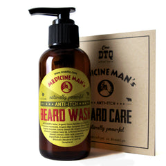 Itchy Beard Cure - Medicine Man's Anti-Itch Beard Wash – OneDTQ - Best Beard  Care