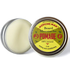 Medicine Man's Anti-Itch Beard & Mustache Pomade - by OneDTQ - Best Beard Care