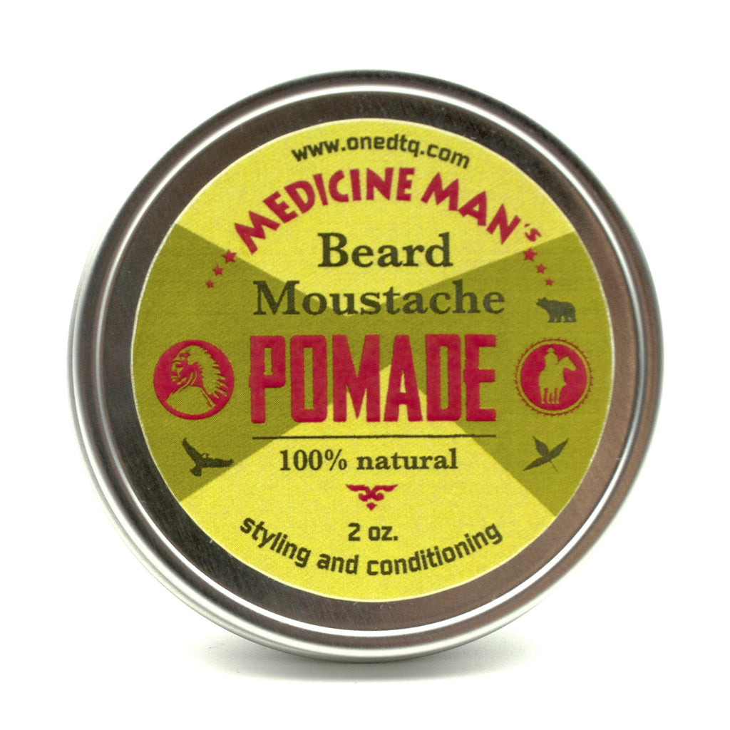Medicine Man's Itchy Beard & Mustache Pomade – OneDTQ - Best Beard Care