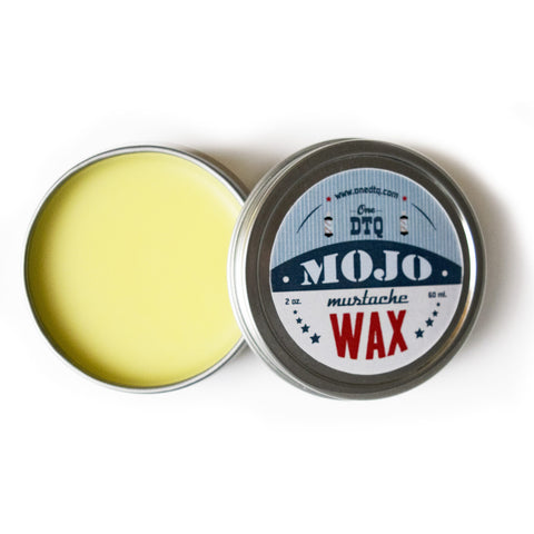 MOJO Mustache Wax - OneDTQ - Best Beard Care  - 1