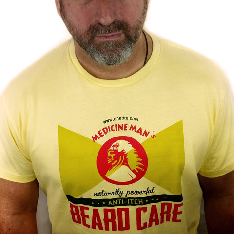 OneDTQ Medicine Man's Graphics T-Shirt - by OneDTQ - Best Beard Care