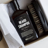 Beard Care Kit: Big Forest Beard Shampoo & Beard Brush - OneDTQ - Best Beard Care  - 1