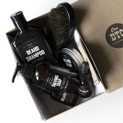 Big Forest Ultimate Goatee Grooming Kit - OneDTQ - Best Beard Care  - 1
