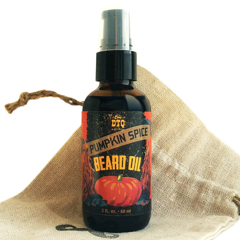 OneDTQ Pumpkin Spice Beard Oil 2 FL OZ - by OneDTQ - Best Beard Care
