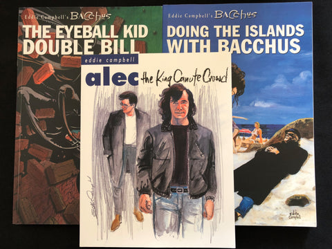 Indy Comics Legend Eddie Campbell Graphic Novel Sampler Gift Bundle