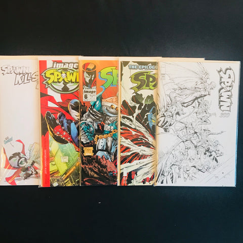 Spawn and Friends Comic Mystery Box