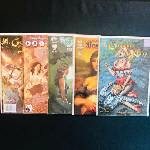 Grimm Fairy Tales and Other Fables Comic Mystery Box