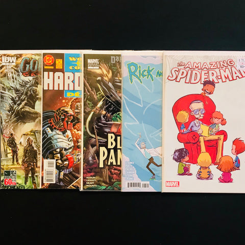 variant covers comic mystery box
