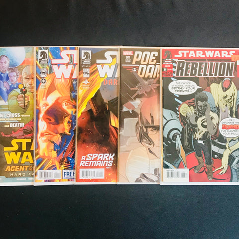 Star Wars Comic Mystery Box