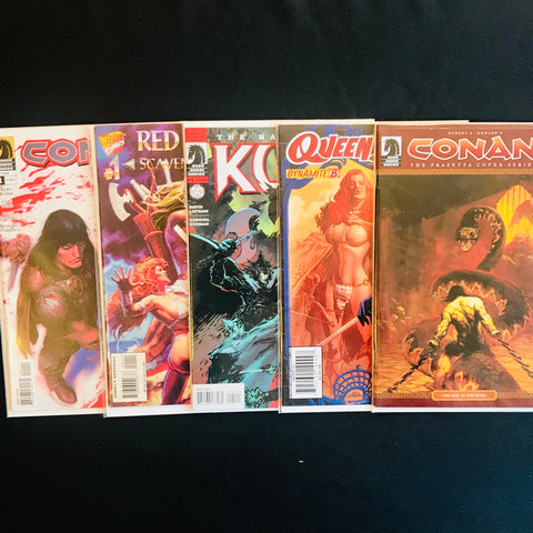Conan, Red Sonja, and Friends Comic Mystery Box
