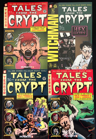 Tales From The Crypt Graphic Novel 4 Pack Bundle Gift Set