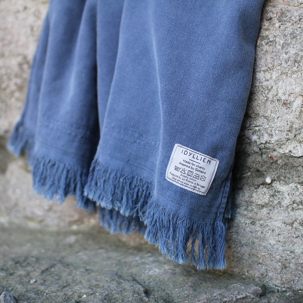 Bath towels Tofta Eco, denim