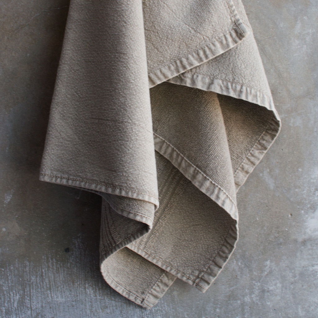 Bath towel eco terry, sand beige