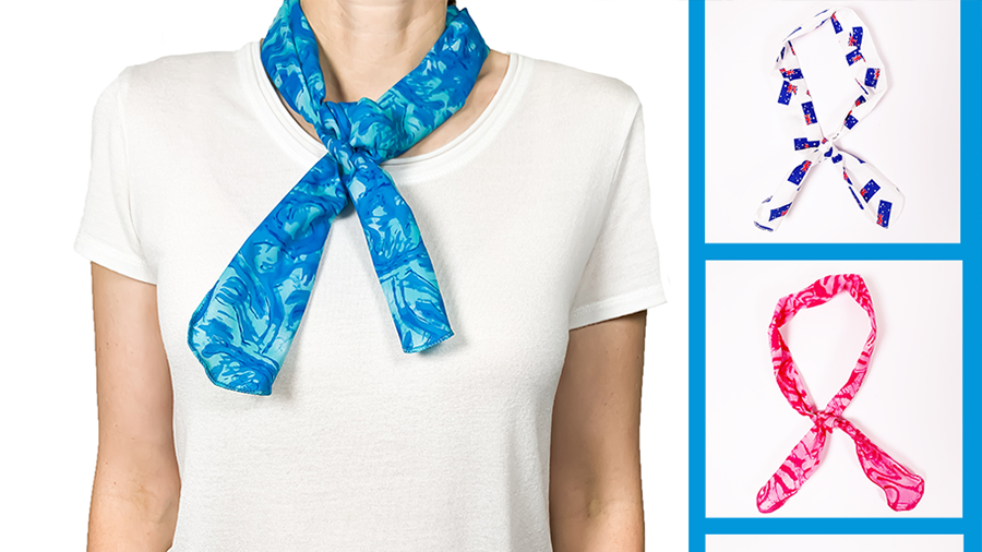 How the Body Cooling Neck Tie Works to Keep you Cool!