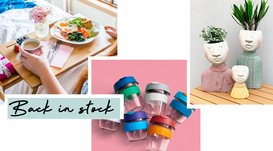 Back in Stock: Couchmate, KeepCups & Face Planters