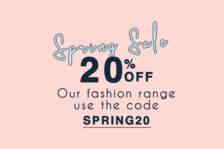 20% OFF Fashion Accessories!