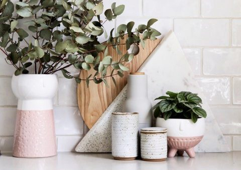 Trending: Terrazzo, Face Planters and Vases with Influencer White Grey All Day