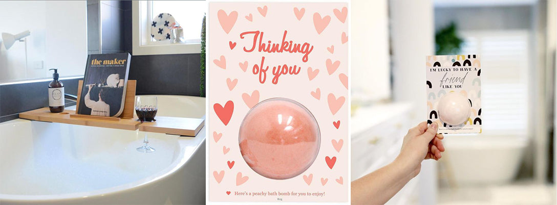 relax a mate bath bomb thinking of you valentines day