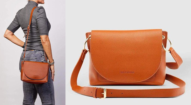Louenhide Baby Blaze Tan Crossbody Bag