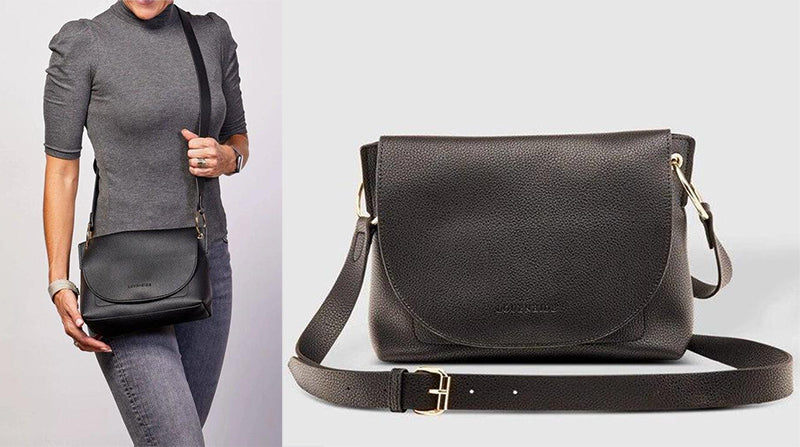 Louenhide Baby Blaze Black Crossbody Bag