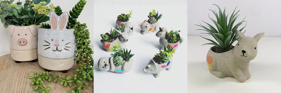 bunny planters urban products