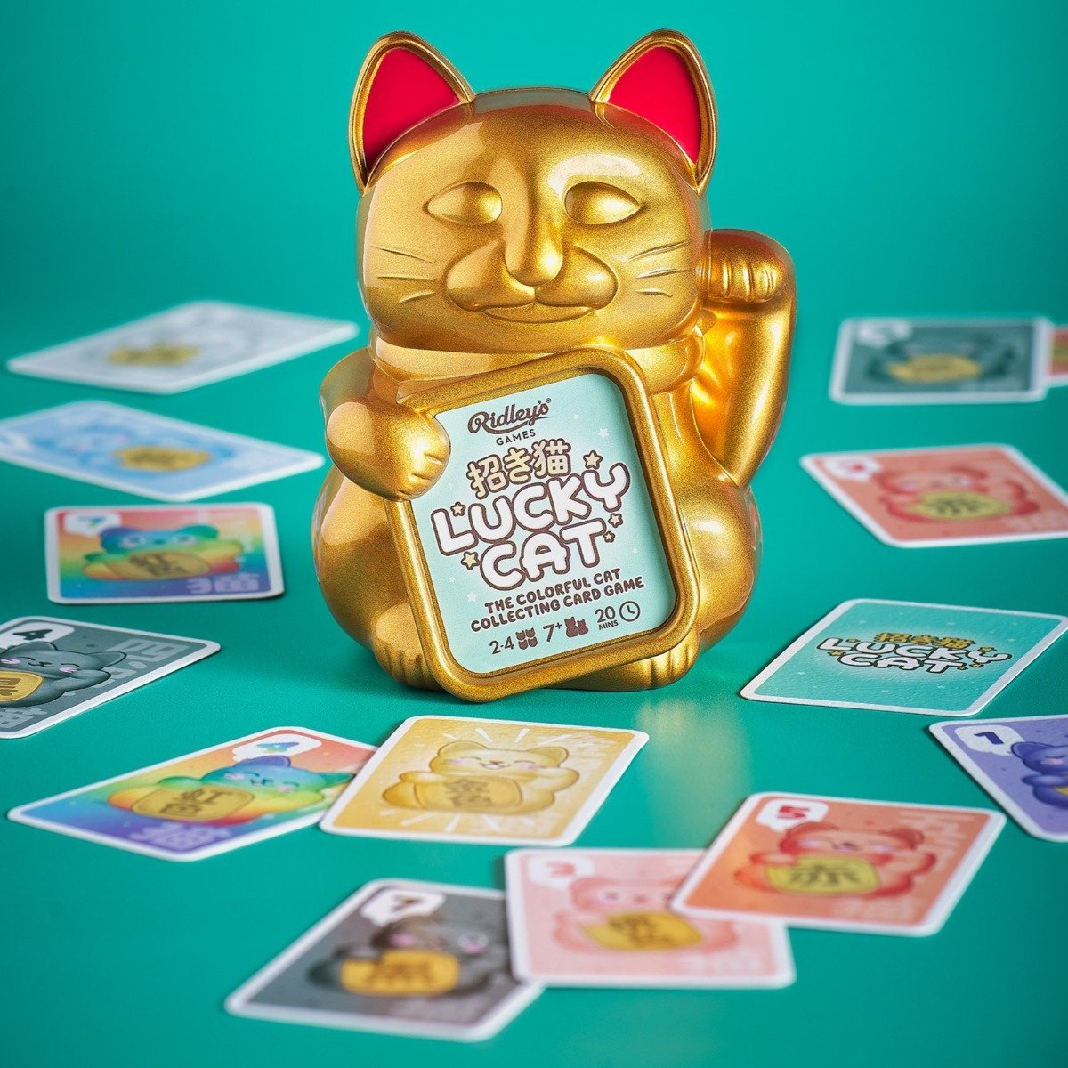 lucky cat game by ridley's
